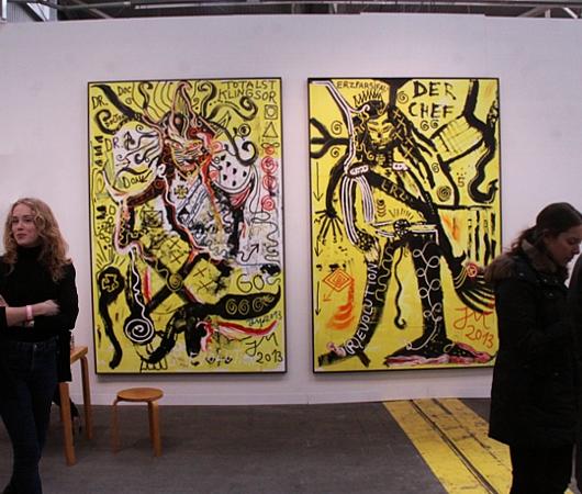 NY最大の美術展覧会「アーモリー・ショー」 The Armory Show 2014_b0007805_2221586.jpg