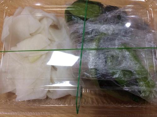 高菜、大根の漬け物_f0206213_21561512.jpg