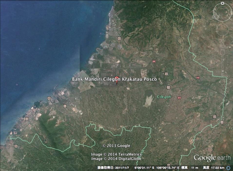 人工衛星は見た「POSCO−クラカタウインドネシア」:真っ黒クロスケ!?_e0171614_1454549.jpg