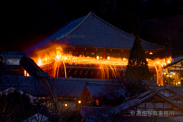 【お松明】東大寺修二会二月堂お水取り【全景】 The complete view of torchlight and NIGATSUDO Cathedral_e0245846_9423310.jpg