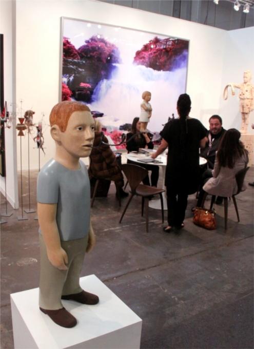 NY最大の美術展覧会「アーモリー・ショー 2014」造形編_b0007805_10515990.jpg