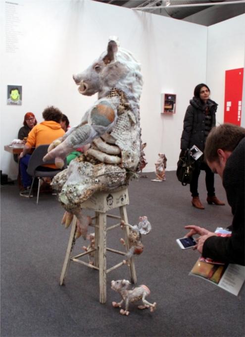 NY最大の美術展覧会「アーモリー・ショー 2014」造形編_b0007805_10521045.jpg
