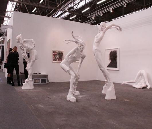 NY最大の美術展覧会「アーモリー・ショー 2014」造形編_b0007805_1161574.jpg