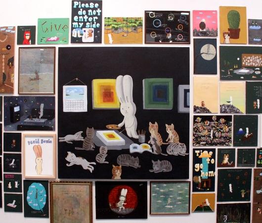 NYアーモリー・ショーで一際印象的だったAtsushi Kaga(かがあつし)さんの作品群_b0007805_14352882.jpg