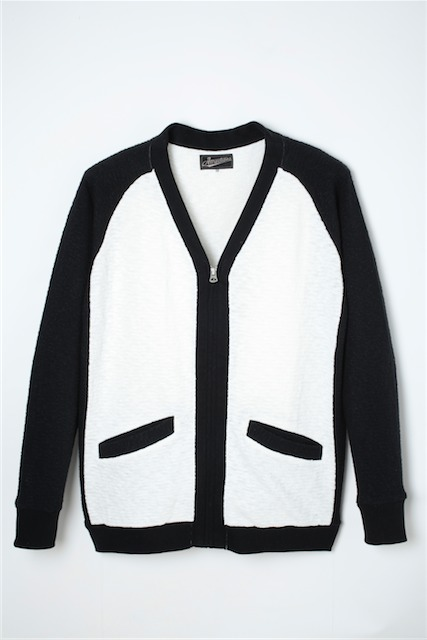 【Attractions】Two Tone Cardigan_c0289919_15214234.jpg