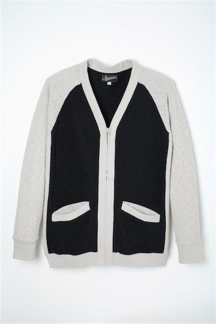 【Attractions】Two Tone Cardigan_c0289919_1523275.jpg