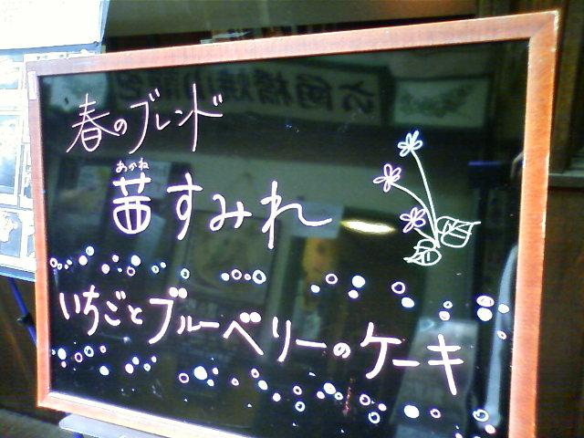 「カサブランカ」が終わり(!?)春のブレンド「茜すみれ」登場です_e0120837_18182470.jpg