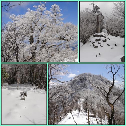 今季最後かなぁ~英彦山の霧氷_e0164643_15533530.jpg