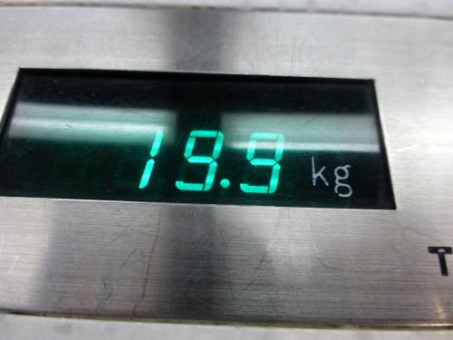 旅の始まりは体重測定から(笑_c0100865_23145774.jpg