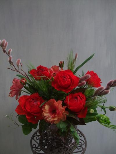 オークリーフ(赤い花)_f0049672_13444068.jpg