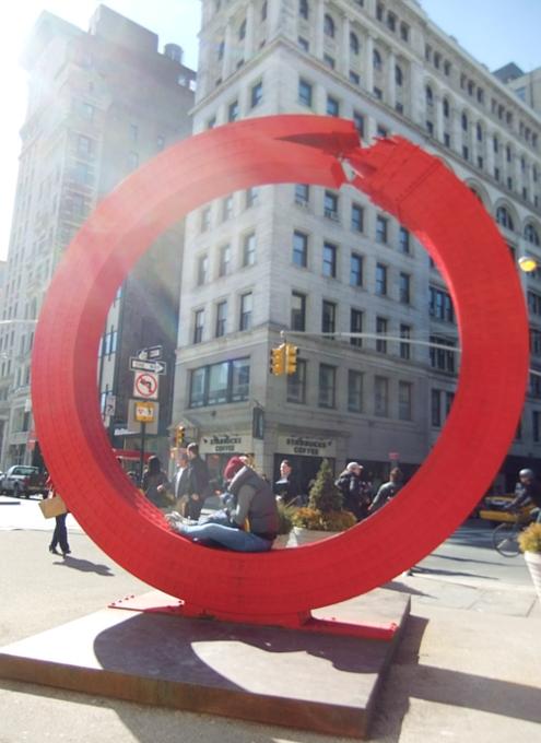 NYの街角で見かけたいろんなアートの楽しみ方_b0007805_2042313.jpg