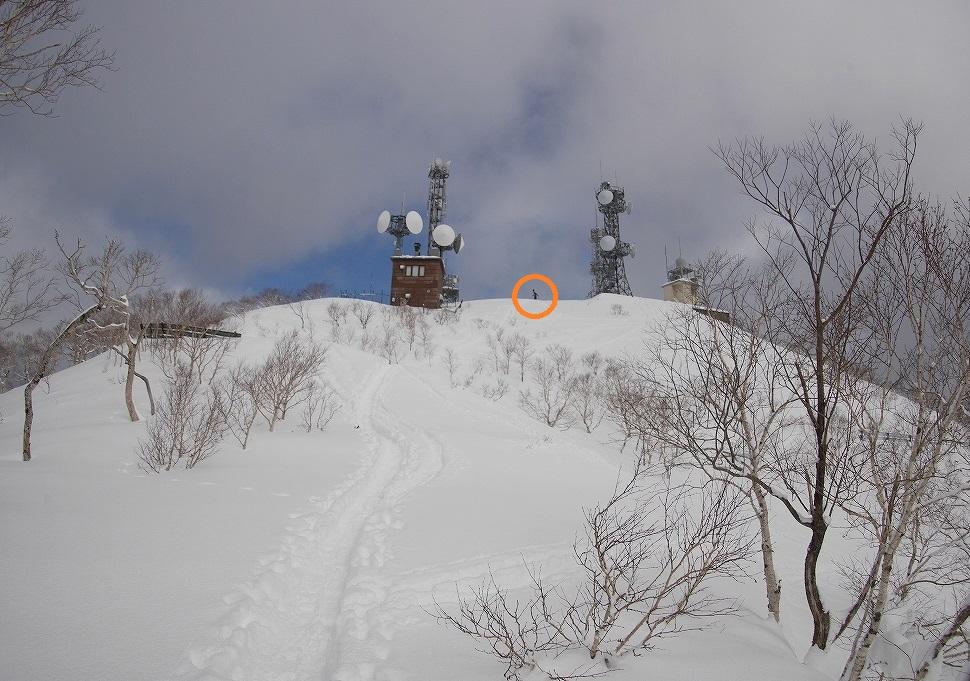 紋別岳、3月12日_f0138096_18201077.jpg