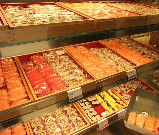 ついにニューヨークにロンドンの寿司チェーン店、ワサビ(Wasabi)がオープン_b0007805_9324128.jpg