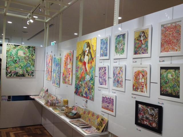 3/14~3/26 モモチョッキリ即興絵 作品展「いろがしゃべる」_f0010033_1764910.jpg