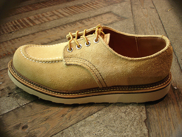 "NEW : REDWING [FOREMAN] Chocolate ""Chrome\"" & [WORK OXFORD] Hawthorn \""Abilene\"" Roughout !!_a0132147_0213368.jpg"