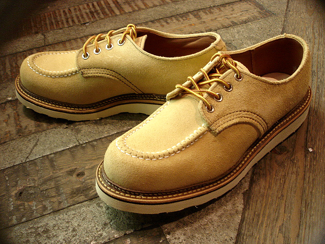 "NEW : REDWING [FOREMAN] Chocolate ""Chrome\"" & [WORK OXFORD] Hawthorn \""Abilene\"" Roughout !!_a0132147_0214791.jpg"