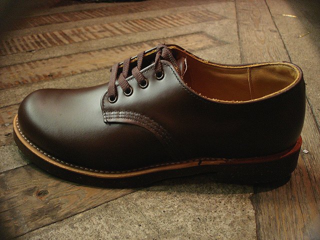 "NEW : REDWING [FOREMAN] Chocolate ""Chrome\"" & [WORK OXFORD] Hawthorn \""Abilene\"" Roughout !!_a0132147_0233428.jpg"