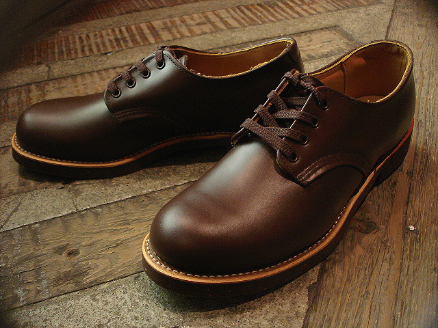"NEW : REDWING [FOREMAN] Chocolate ""Chrome\"" & [WORK OXFORD] Hawthorn \""Abilene\"" Roughout !!_a0132147_024328.jpg"