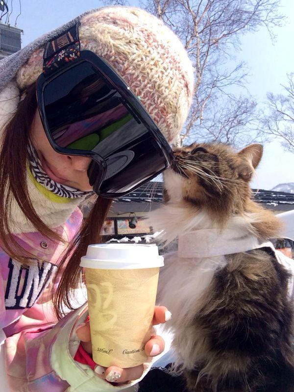 りぼんさんとスノーボード☆_c0151965_1112387.jpg