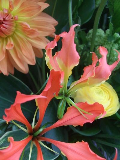 オークリーフ(春色のスタンド装花)_f0049672_17485799.jpg