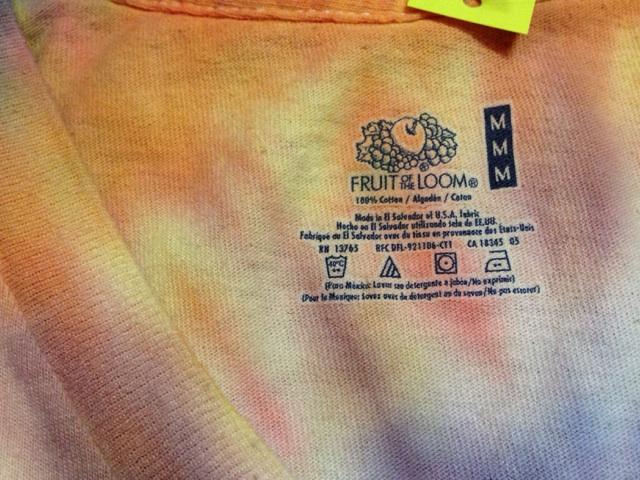 神戸店3/15(土)カテゴリT-Shirt入荷!#5  Solid,Tie-Dye, Henry!!!(T.W.神戸店)_c0078587_15354492.jpg