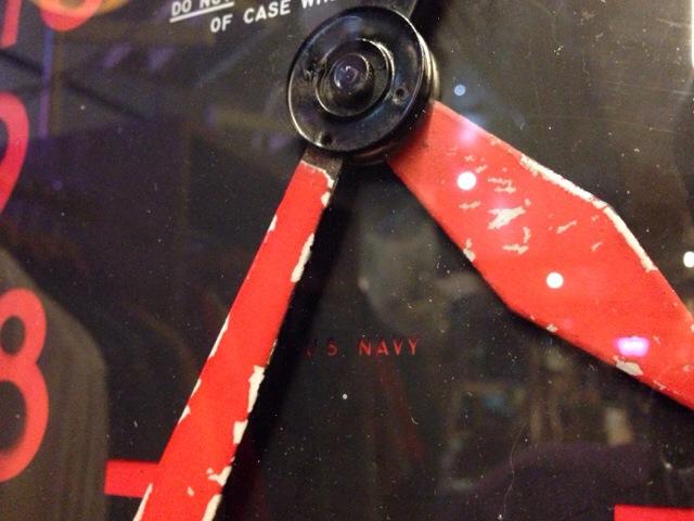 3月15日(土)大阪店雑貨&小物入荷!!④ミリタリー編!U.S.NavyWallClock&Cap&Bag!!(大阪アメ村店)_c0078587_3193940.jpg