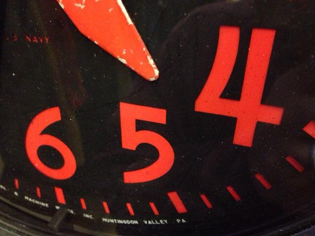 3月15日(土)大阪店雑貨&小物入荷!!④ミリタリー編!U.S.NavyWallClock&Cap&Bag!!(大阪アメ村店)_c0078587_3201491.jpg