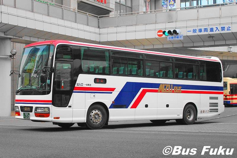 会津バス:会津200か213 : バス...