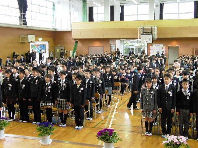 3月14日(金) 第39回卒業式 : ...