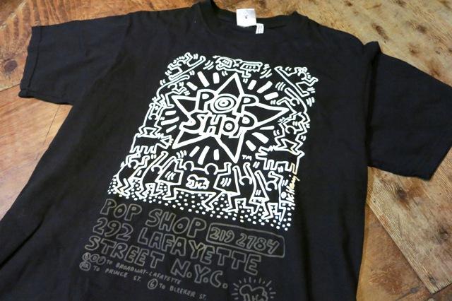 3/15(土)入荷!キースヘリング POP SHOP Tシャツ!_c0144020_14214454.jpg