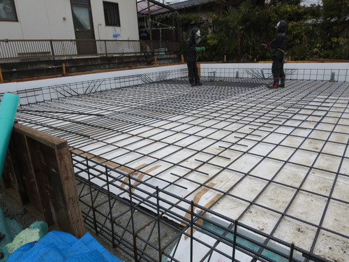 Q1住宅ーX1八幡:配筋検査_e0054299_10433487.jpg