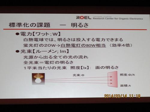 有機エレクトロニクス シンポジュウム in 米沢 2014(3)_c0075701_17525428.jpg