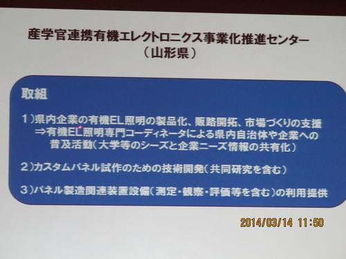 有機エレクトロニクス シンポジュウム in 米沢 2014(3)_c0075701_1873761.jpg