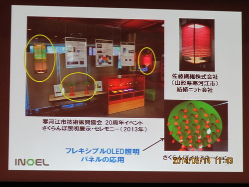 有機エレクトロニクス シンポジュウム in 米沢 2014(3)_c0075701_1875621.jpg