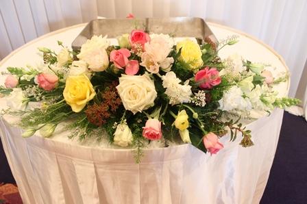 お任せ婚礼装花_d0227610_22005015.jpg