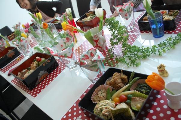 3月のお料理教室「お花見しながらお弁当♪」_d0104926_7204355.jpg