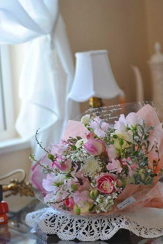 *謝恩会の花束~♪*_e0159050_193032.jpg