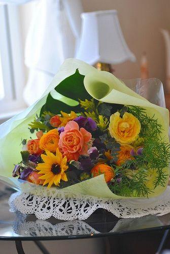*謝恩会の花束~♪*_e0159050_1953053.jpg
