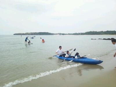 海開き@トゥドゥマリ浜_e0131462_22315614.jpg