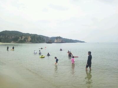 海開き@トゥドゥマリ浜_e0131462_22833100.jpg