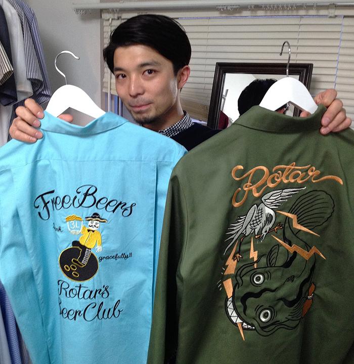 ROTARさんの展示会_c0223486_1245076.jpg