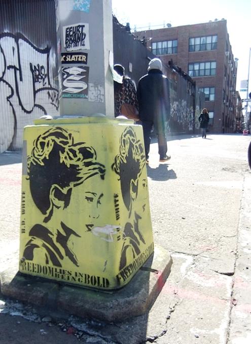 ブルックリンのウィリアムズバーグで見かけた街角アート_b0007805_9361771.jpg