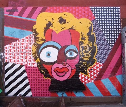 ブルックリンのウィリアムズバーグで見かけた街角アート_b0007805_937125.jpg