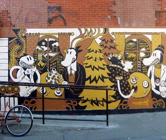 ブルックリンのウィリアムズバーグで見かけた街角アート_b0007805_937257.jpg