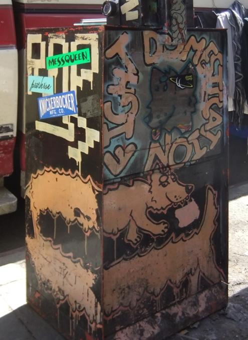 ブルックリンのウィリアムズバーグで見かけた街角アート_b0007805_9394912.jpg