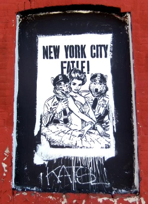 ブルックリンのウィリアムズバーグで見かけた街角アート_b0007805_9401298.jpg