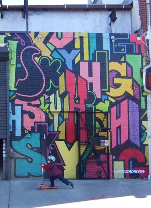 ブルックリンのウィリアムズバーグで見かけた街角アート_b0007805_9405072.jpg