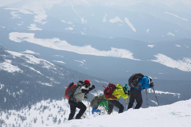 雪山散歩_c0167028_22104365.jpg