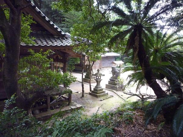 八所宮と高良御子神社 こんな共時性も_c0222861_21225675.jpg
