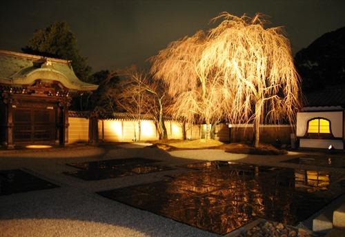 高台寺、白砂が映し出す幽玄な世界_b0067283_15295223.jpg